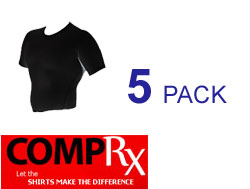 CompRX™ Shirts 5 Pack